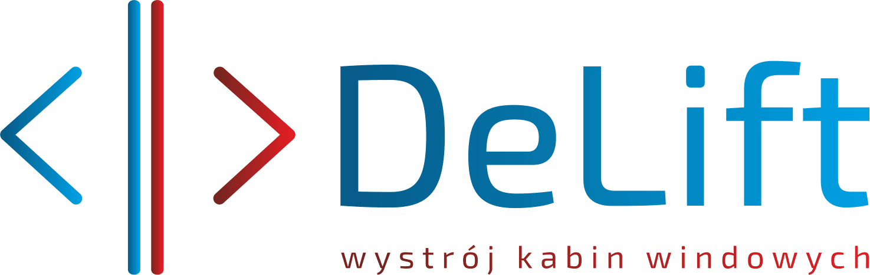 Delift – wystrój kabin windowych Logo